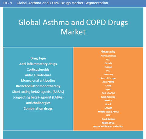 Asthma And Copd Drugs Market Size Share And Forecast To 2025