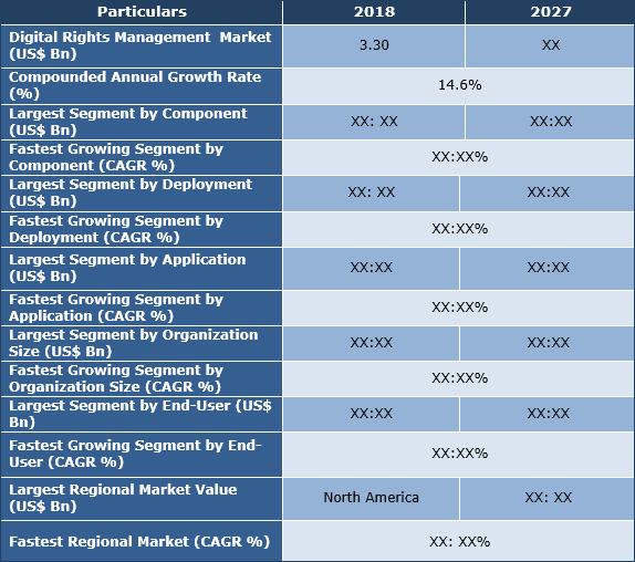 Digital Rights Management Market