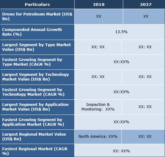 Drones For Petroleum Market