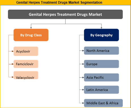 Genital Herpes Treatment Drugs Market