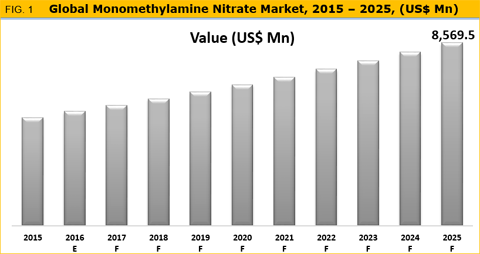 Monomethylamine Nitrate Market